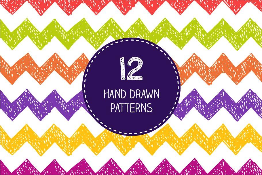 Download Color doodle patterns