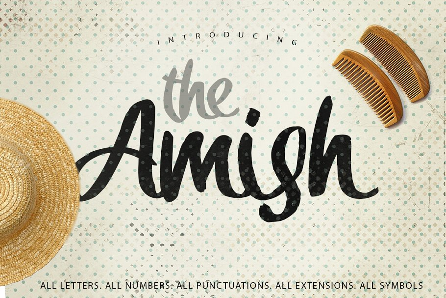 Download The Amish Typeface