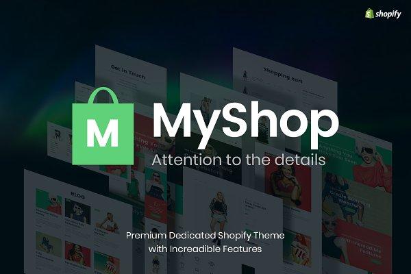Download MyShop - Best Shopify theme