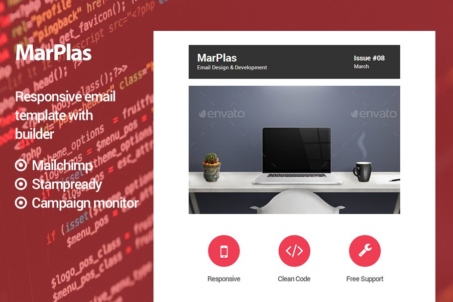 Download MarPlas - Responsive email template