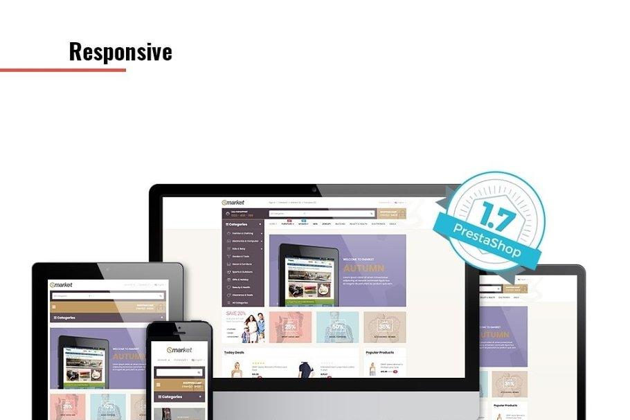 Download Leo Emarket Responsive Prestashop
