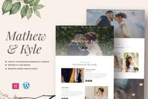 Download Wedding Wordpres Theme Elementor Kit