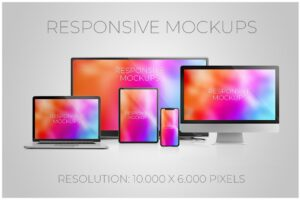 Download Responsive web mockups