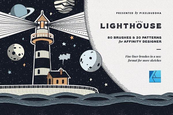Download Lighthouse Liner Affinity Brushes