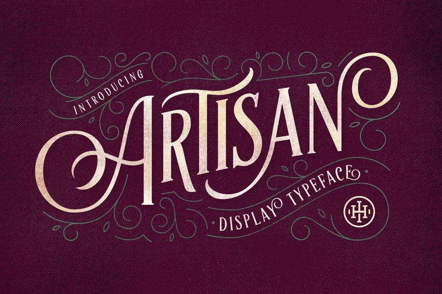 Download Artisan Display Typeface
