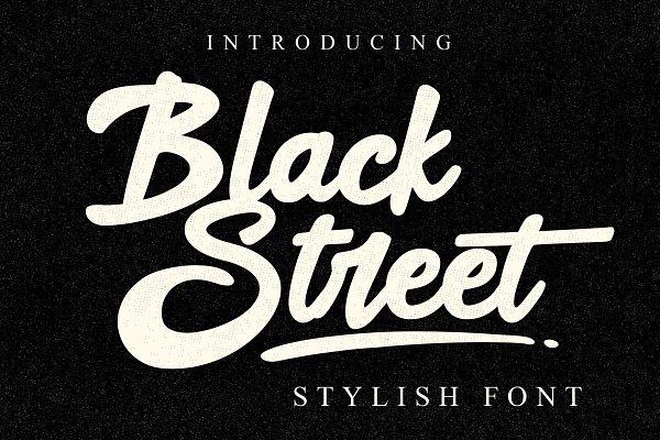 Download Black Street Font