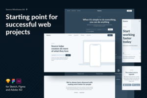 Download Source Wireframe Kit