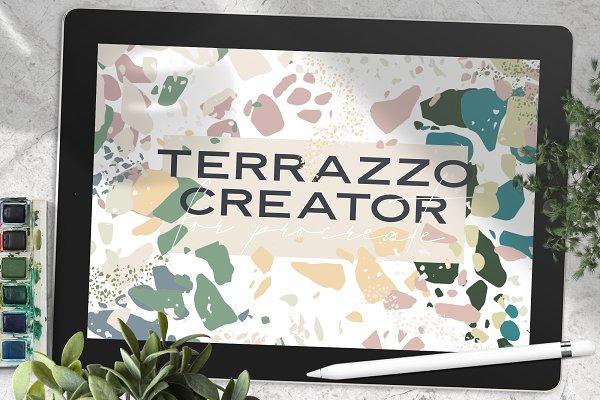 Download Terrazzo Creator for Procreate