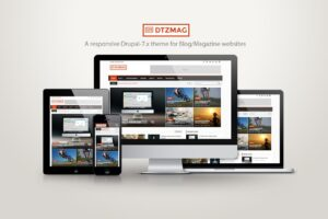 Download DTZMag - A Blog/Magazine/News theme
