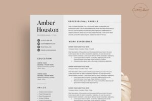 Download Resume/CV - The Amber