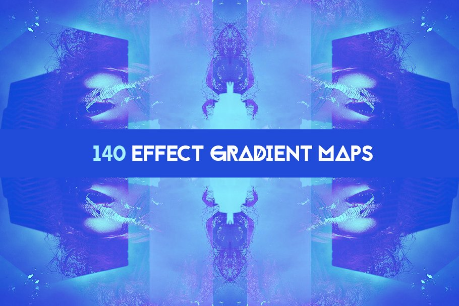 Download 140 Effects gradient map pack