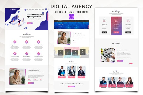 Download Digital Agency – Divi Child Theme