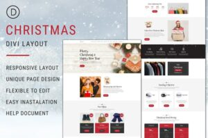 Download Christmas – Divi Theme Layout