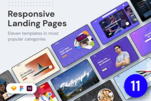 Download ELEVEN - Responsive Landing Pages
