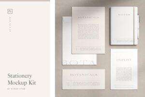 Download Stationery Mockup Kit
