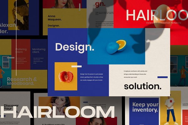 Download HAIRLOOM - COLOR Powerpoint
