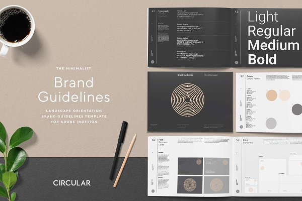 Download THE MINIMALIST / Brand Guidelines