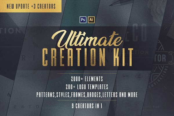 Download 9in1 Ultimate Creation Kit | $29
