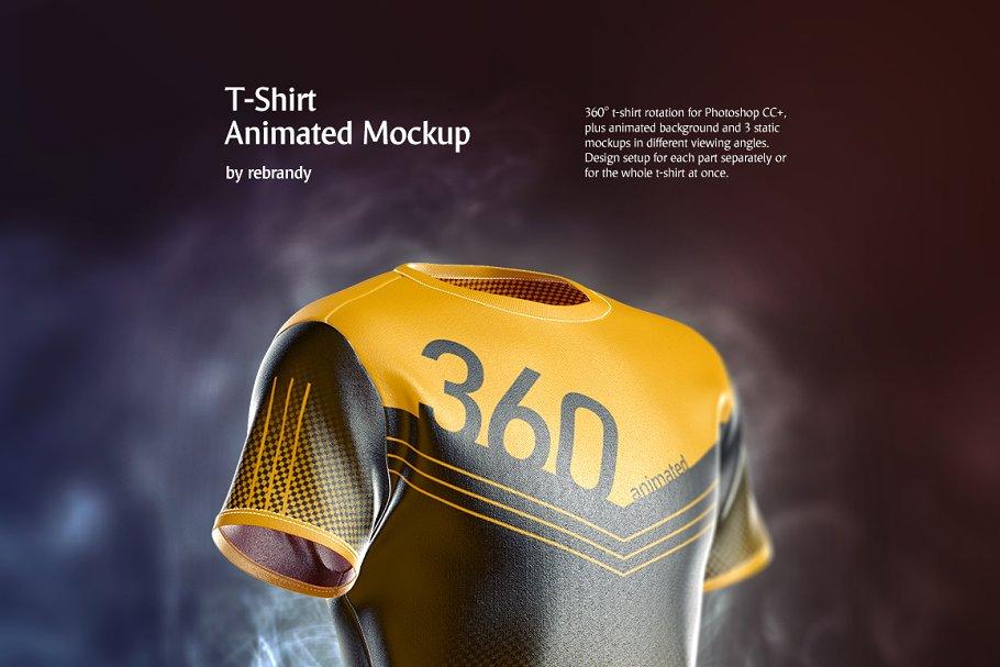 Download T-Shirt Animated Mockup