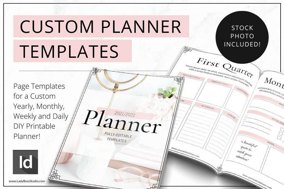 Download Planner Templates Canva & InDesign