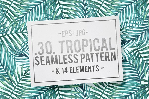 Download Tropical patterns & elements