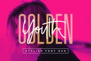 Download Golden Youth Font Duo