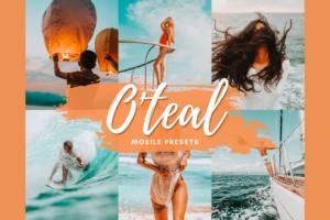 Download ORANGE TEAL Mobile Lightroom Presets