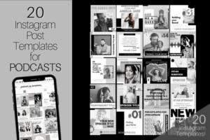 Download 20+ Podcast Instagram Post Templates