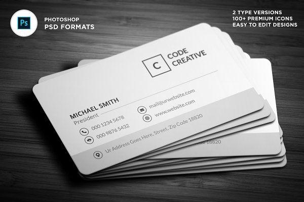 Download Modern Corporate Business Cards