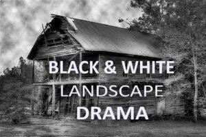 Download 10 Black & White Landscape Drama