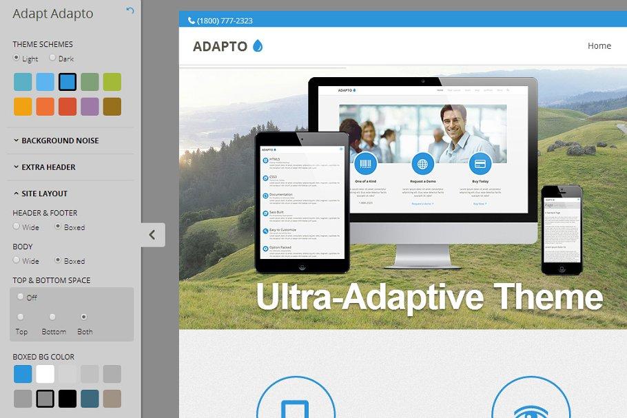 Download Adapto | Customizable Multipurpose