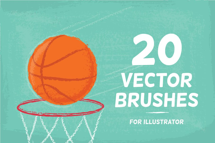 Download 20 Vector Brushes Set