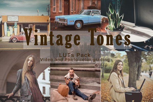 Download Vintage Tones - LUTs Pack