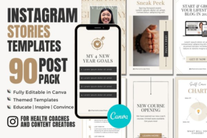 Download Instagram Story Template Canva