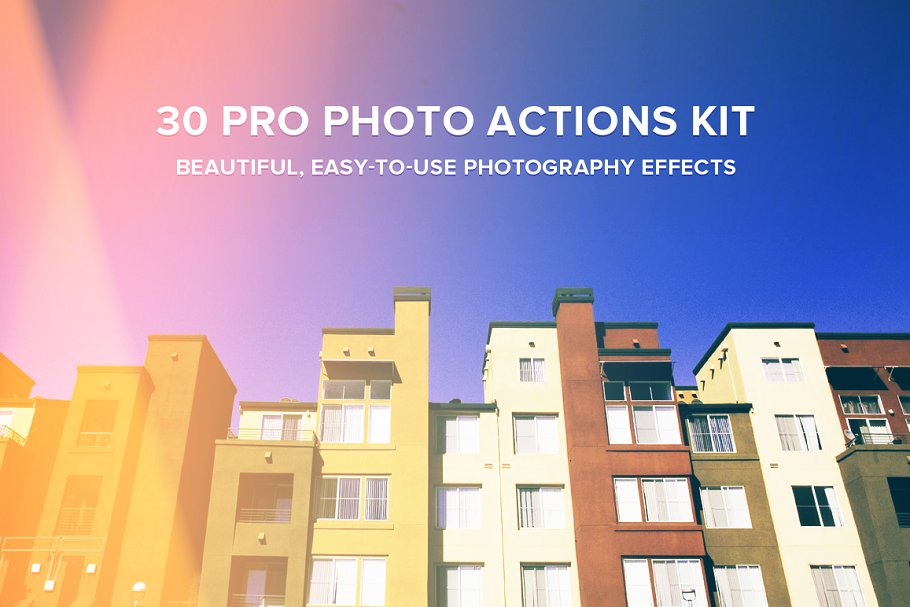 Download 30 Pro Photo Actions Kit
