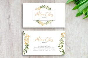 Download Floral Business Card Template