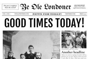 Download 4 Page Newspaper Template Google Doc