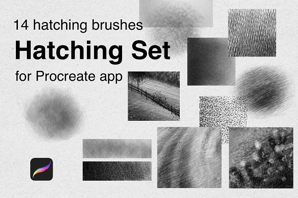 Download Hatching Brushes for Procreate