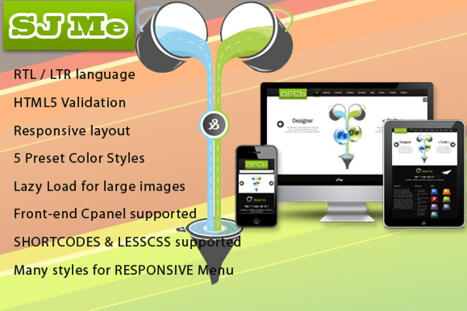 Download SJ Me - Personal responsive template