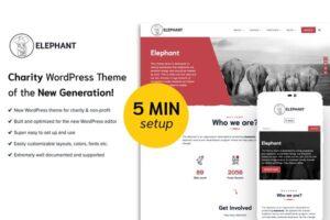 Download Elephant - Charity WordPress Theme