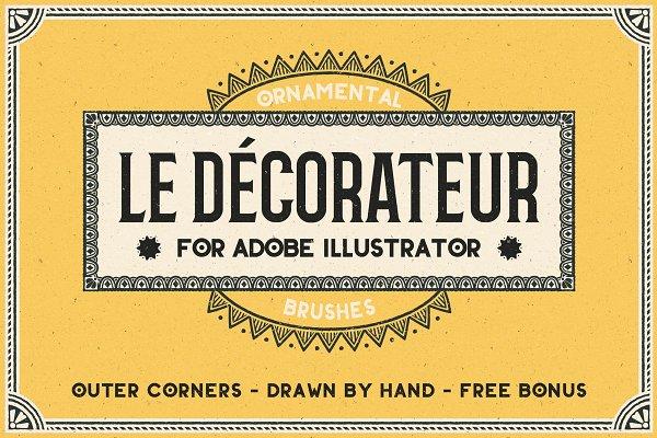 Download Le Decorateur Ornamental Brushes