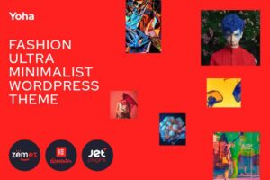 Download Yoha - Fashion Minimalist WP Theme