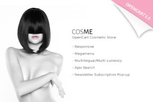 Download Cosmetics Store OpenCart Template