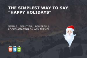 Download Xmas Widget - Big Elf