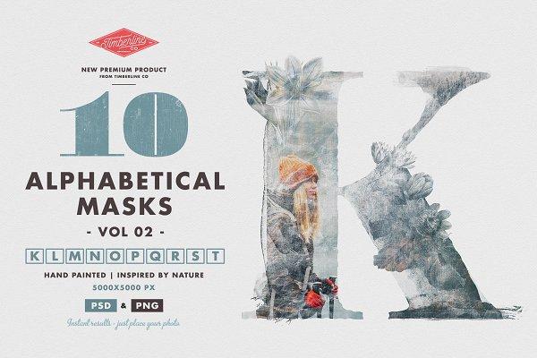 Download 10 Alphabetical Masks Vol 02