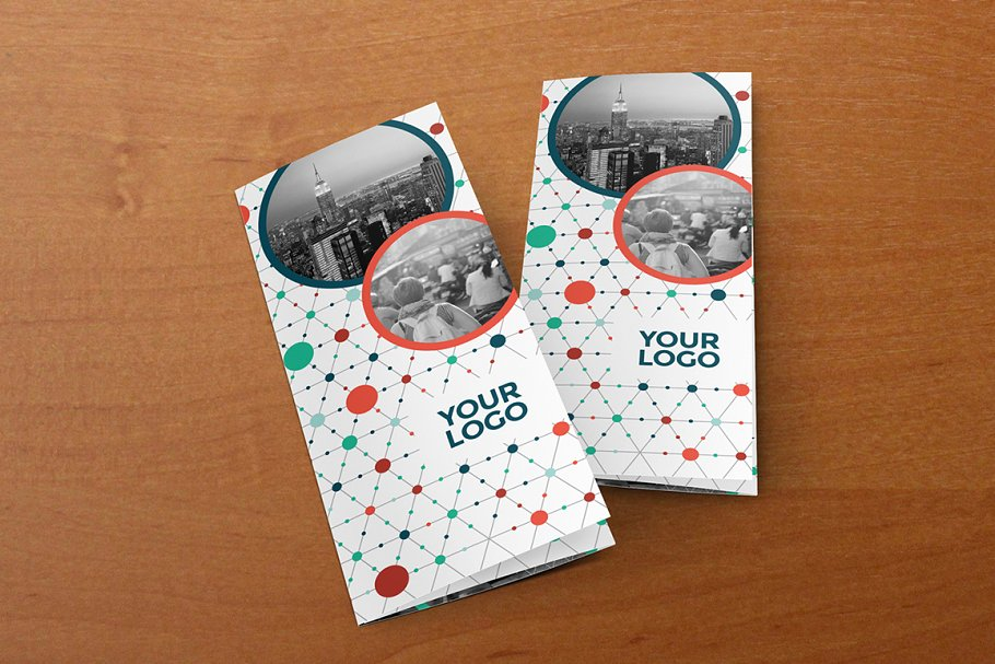 Download Cool Circles Pattern Trifold