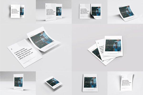 Download A4 Flyer Mockups