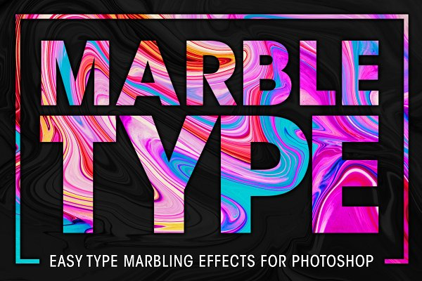 Download Marble Type for Photoshop