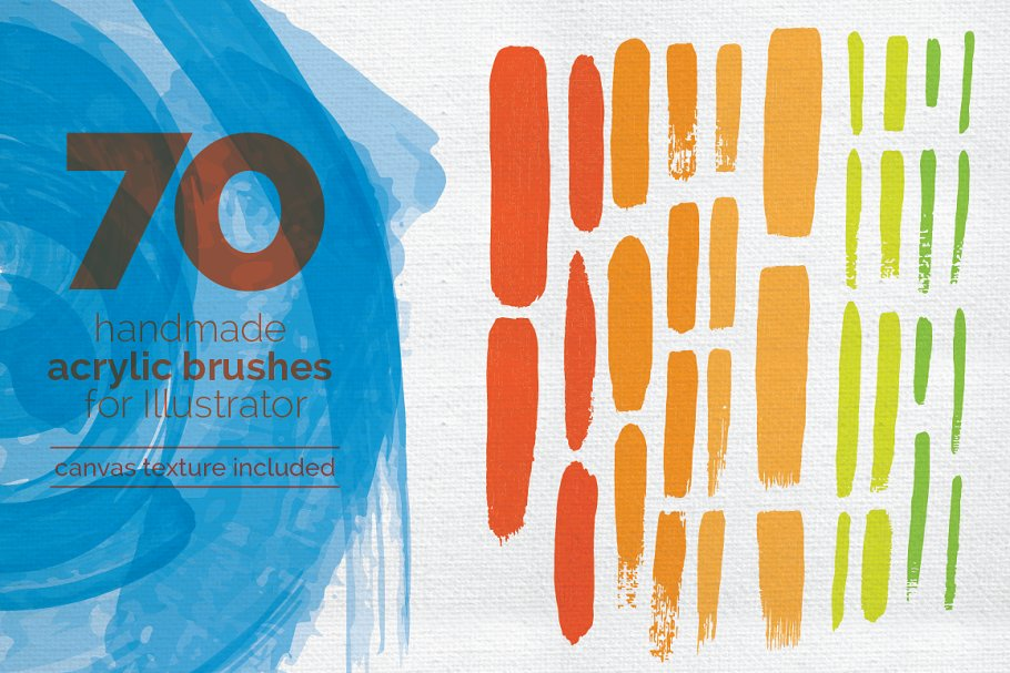 Download Handmade Acrylic Brush Set