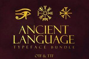 Download Ancient Languages Typeface Bundle
